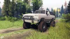 Dodge Ramcharger II 1991 tan для Spin Tires