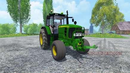 John Deere 6130 2WD v2.0 для Farming Simulator 2015