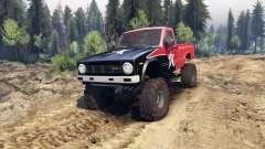 Toyota Hilux Truggy 1981 v1.1 rigid industries для Spin Tires