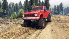 Toyota Hilux Truggy 1981 v1.1 red для Spin Tires