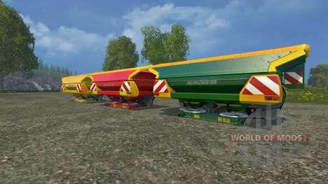 Набор Amazone Zam 1501 для Farming Simulator 2015