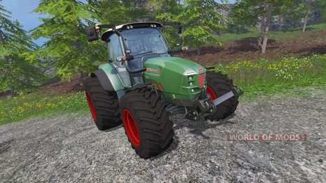 Huerlimann XM 130 4Ti для Farming Simulator 2015