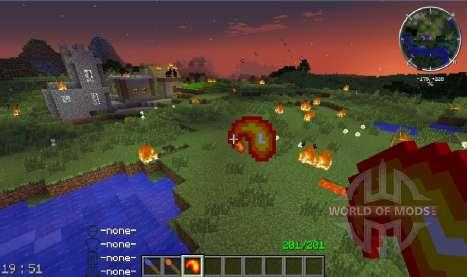 Fire Flower для Minecraft