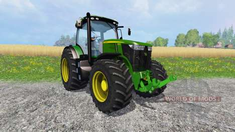 John Deere 7310R для Farming Simulator 2015