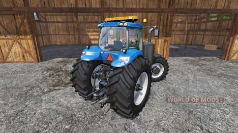 New Holland T8.320 600EVO v1.3 для Farming Simulator 2015