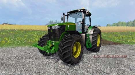 John Deere 7310R v2.0 для Farming Simulator 2015