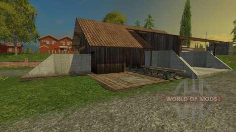 Лесопилка для Farming Simulator 2015