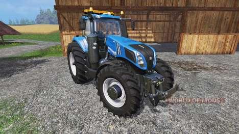 New Holland T8.320 600EVO v1.3 для Farming Simulator 2015