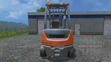 Toyota 62-8FD18 для Farming Simulator 2015