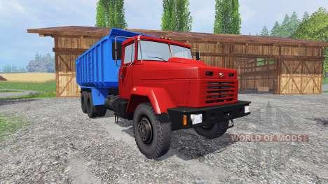 КрАЗ-6130 С4 для Farming Simulator 2015