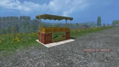Теплицы для огурцов и помидоров для Farming Simulator 2015