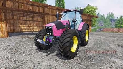 Deutz-Fahr Agrotron 7250 FL pink color для Farming Simulator 2015