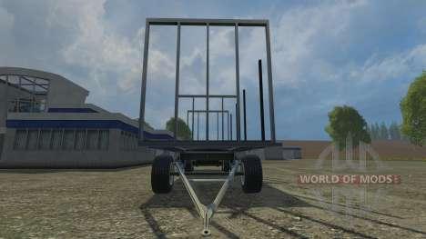 Palettenanhaenger для Farming Simulator 2015