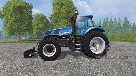 New Holland T8.435 with Weight для Farming Simulator 2015
