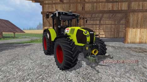 CLAAS Arion 650 v2.0 для Farming Simulator 2015