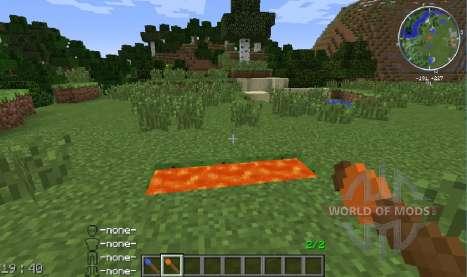 Spawnable Liquids для Minecraft