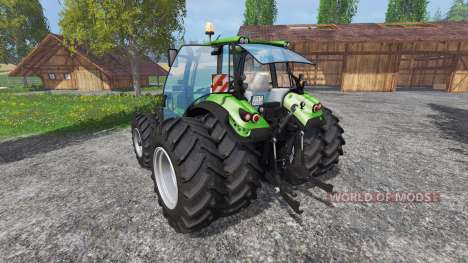 Deutz-Fahr Agrotron 6190 TTV v2.0 для Farming Simulator 2015