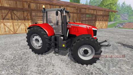 Massey Ferguson 7622 v2.0 для Farming Simulator 2015