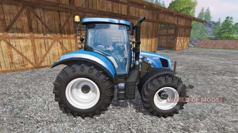 New Holland T6.160 FL для Farming Simulator 2015