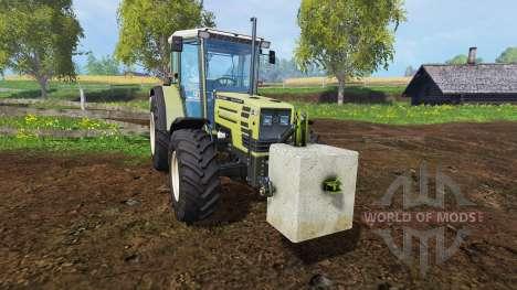 Бетонный противовес 500 кг. для Farming Simulator 2015