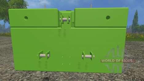Suer SB 1000 для Farming Simulator 2015