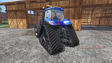 New Holland T8.435 with 200 km-h v1.1 для Farming Simulator 2015