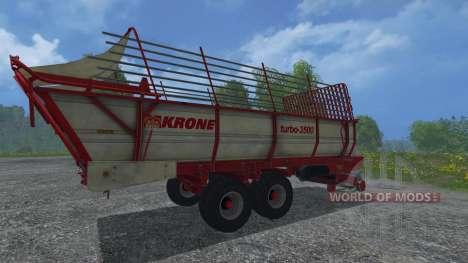 Krone Turbo 3500 для Farming Simulator 2015