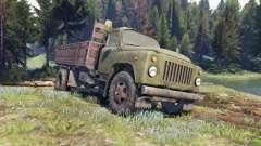ГАЗ-53 зелёный для Spin Tires