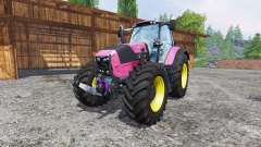 Deutz-Fahr Agrotron 7250 FL pink color