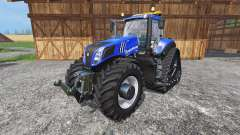 New Holland T8.435 with 200 km-h v1.1