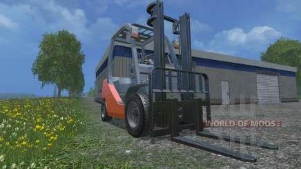 Toyota 62-8FD18 для Farming Simulator 2015