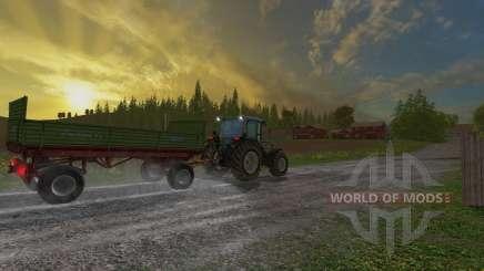 Krone Emsland ROS для Farming Simulator 2015