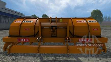 Rotoaratro Falc для Farming Simulator 2015