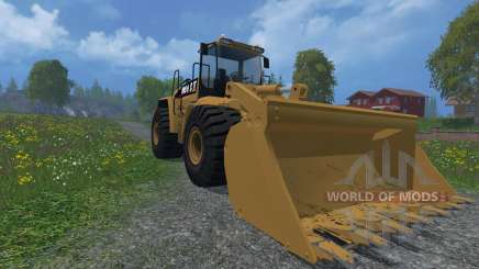 Cat 980H AWS v3 для Farming Simulator 2015
