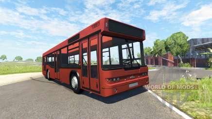 МАЗ-203 красный для BeamNG Drive