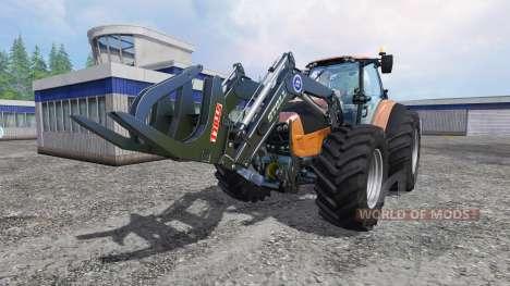 Deutz-Fahr Agrotron 7250 Forest King orange для Farming Simulator 2015