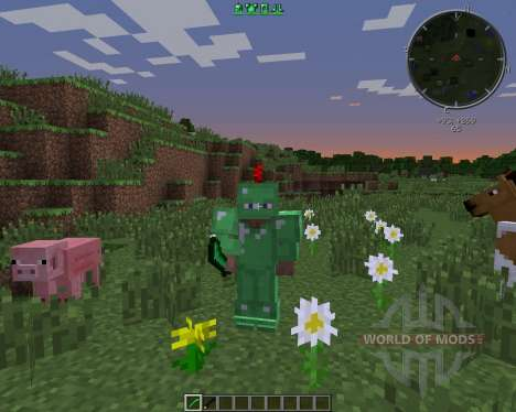 Emerald and Obsidian Tools для Minecraft