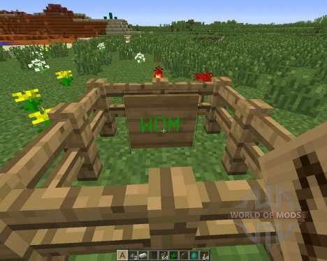 Large Sign для Minecraft