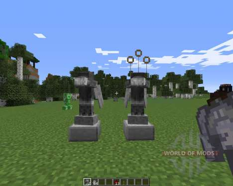 Weeping Angels для Minecraft