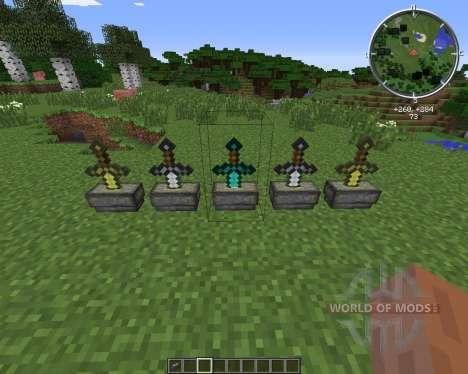 Sword Pedestal для Minecraft