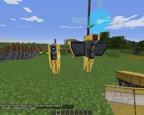 HyperionCraft для Minecraft