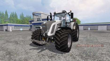 Fendt 933 Vario White Edition для Farming Simulator 2015