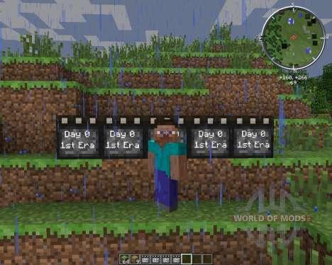 MC DayCounter для Minecraft