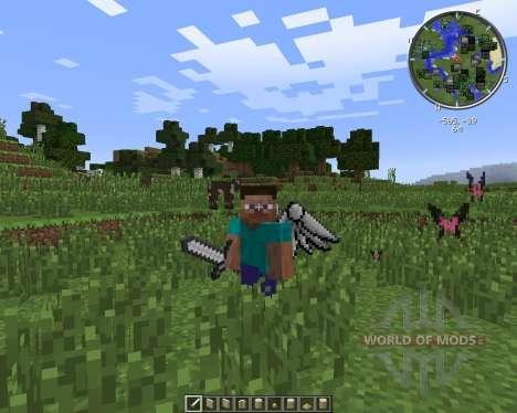 Cosmetic Wings для Minecraft