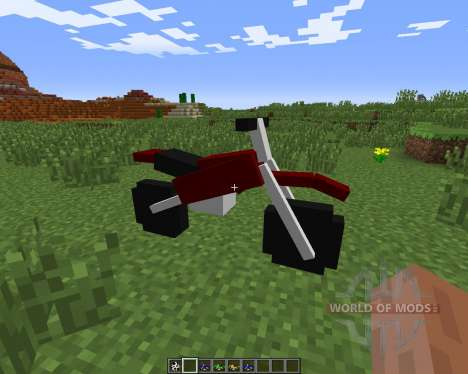 The Dirtbike для Minecraft
