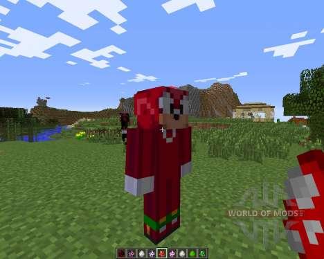 Sonic The Hedgehog для Minecraft