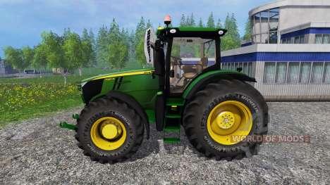 John Deere 7280R v2.0 для Farming Simulator 2015