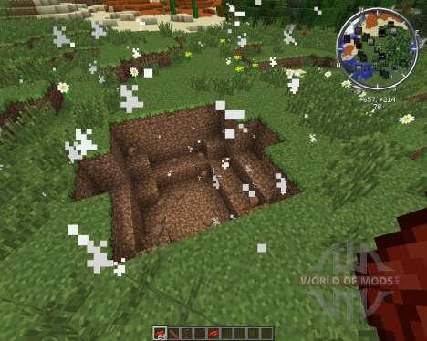 Throwable Bricks для Minecraft