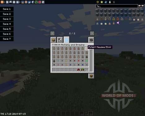 TYNKYN для Minecraft