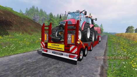 Kaiser Porte Engin Forestier для Farming Simulator 2015